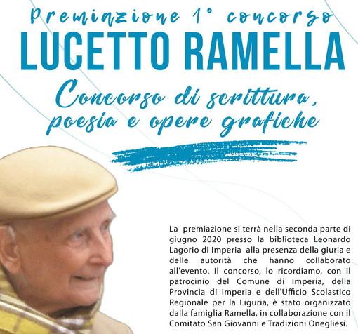 Imperia: il 10 maggio scorso è scaduto il termine per le domande da presentare al premio 'Lucetto Ramella'