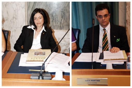 Maria Teresa Parodi e Luca Martino