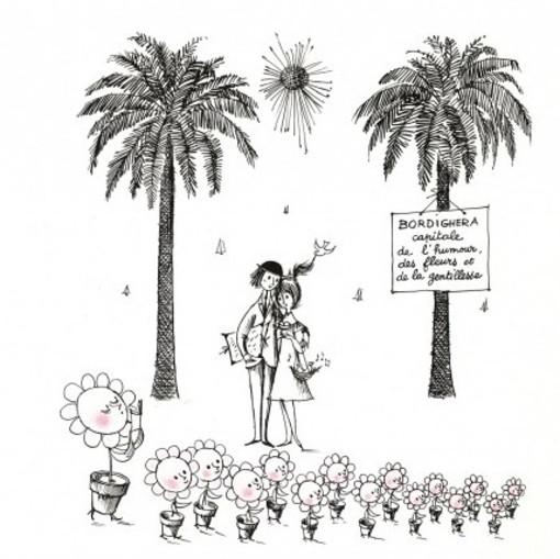 Oggi è San Valentino: Confesercenti propone a Bordighera di diventare 'Città d'amore' nel nome di Peynet