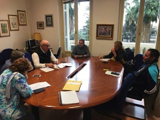 La sala riunione delle Commissioni