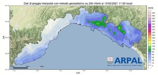 Meteo: alle 15 termina l'allerta per piogge anche sul Levante, da venerdì arriva il freddo