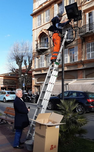 Ventimiglia: scatta il progetto per migliorare l'illuminazione pubblica, tre fasi per dare più luce alla città (Foto)