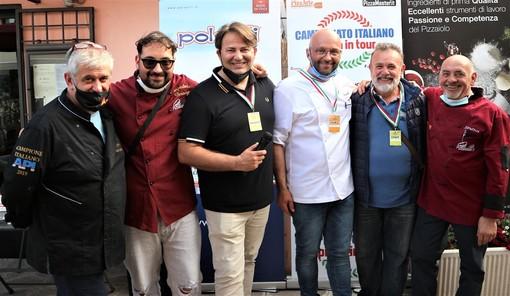 Alassio: i risultati della tappa regionale del Pizza Tour 2021 (foto)