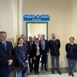 Sanremo: questa mattina la presentazione al 'Borea', da oggi l'ospedale torna ad avere il 'Posto fisso di Polizia' (Foto e Video)