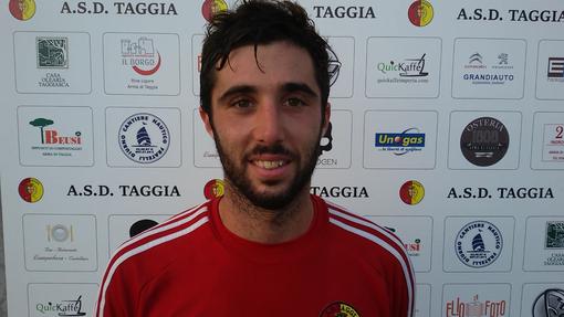 Paolo Tarantola, centrocampista del Taggia