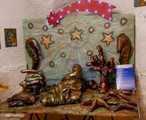 Cervo: le foto di Marcello Nan ai presepi esposti in 'Natale d'altri tempi' nel borgo antico