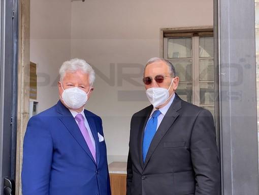 Ventimiglia: nulla di fatto per un eventuale centro di accoglienza dall'incontro con il Prefetto Di Bari (Foto e Video)