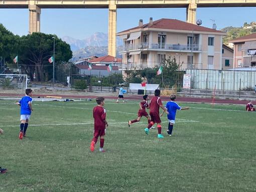 Calcio: amichevole dei 'Pulcini 2012' della Polisportiva Vallecrosia Academy contro la Sanremese (Foto)