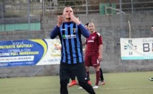 Calcio, Eccellenza. Busalla-Imperia 0-1: Daddi è letale e spinge i nerazzurri al secondo posto
