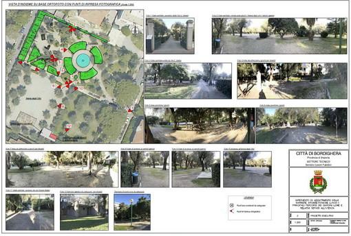 Il progetto per i giardini Lowe