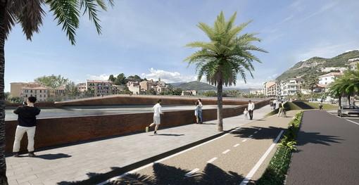 """Ventimiglia: avviata ieri la Conferenza dei Servizi per la nuova passerella, Scullino """"Pronta a fine 2023"""" (Foto)"""