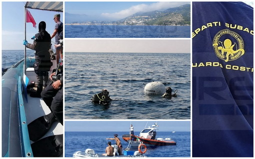 Ventimiglia: torna la pulizia dei fondali a Capo Mortola, Guardia Costiera e 'Pianeta Blu' rimuovono le reti abbandonate (Foto e Video)