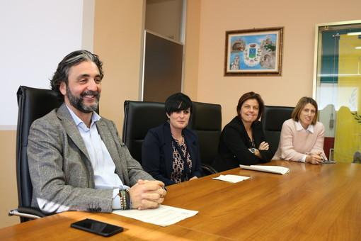 Da sinistra: Mario Conio, Barbara Dumarte, Ilaria Natta e Chiara Cerri