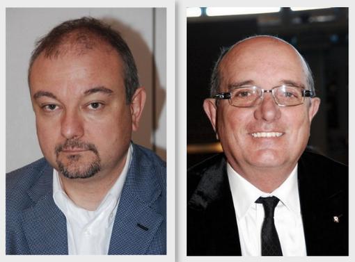 Da sinistra, Igor Varnero ed Americo Pilati