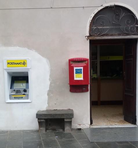 Poste Italiane: si muove l'entroterra, ad Apricale Il nuovo Atm Postamat per l'ufficio postale