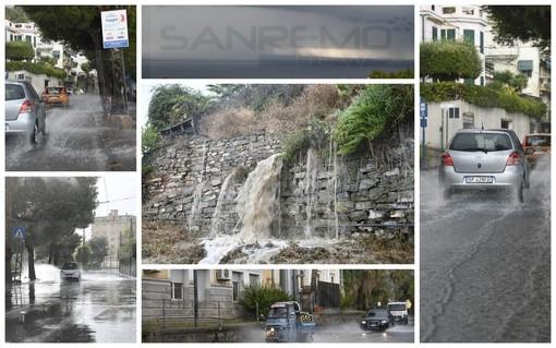 Piogge e temporali sulla nostra provincia: il picco massimo a Imperia con 30 millimetri in pochi minuti (Foto)