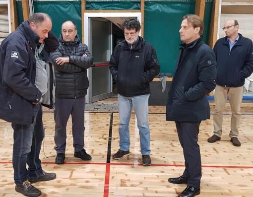 Edilizia scolastica, 147mila euro per ricostruire la palestra di San Lorenzo al Mare dopo i danni del maltempo lo scorso ottobre