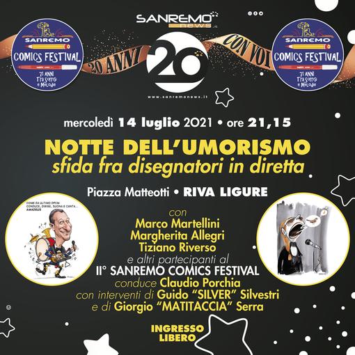 20 anni da festeggiare insieme: ecco i primi eventi per i nostri lettori. Si inizia mercoledì 14 luglio da Sanremo e Riva Ligure