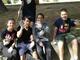 Cervo: educazione civica attiva per i ragazzi della scuola secondaria, con la pulizia ai Giardini del Villaggio dei Fiori (Foto)
