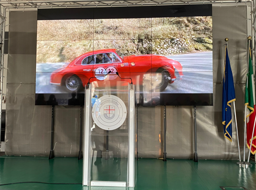 Coppa Milano-Sanremo, presentata la rievocazione storica automobilistica (foto e video)