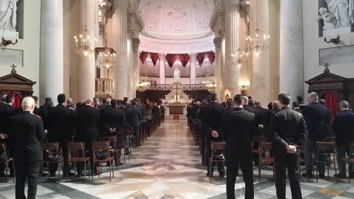 Imperia: celebrata questa mattina nella Basilica di Porto Maurizio la Messa del 'Precetto Pasquale' (Foto)