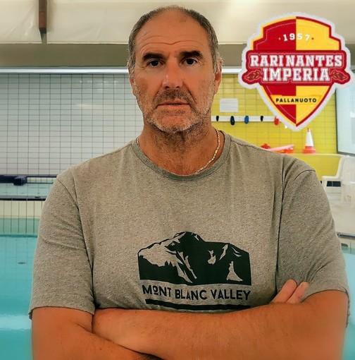 Pallanuoto maschile, Serie A2. Ora è ufficiale: Andrea Pisano nuovo allenatore della Rari Nantes Imperia