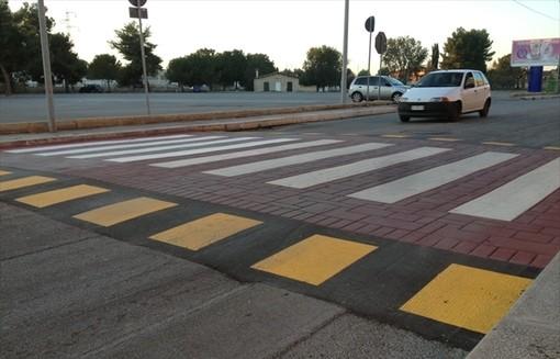 Taggia: un passaggio pedonale rialzato e dieci dossi, nuovi interventi per la sicurezza stradale