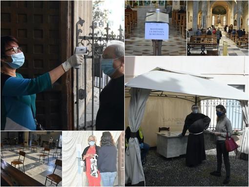 Le immagini dalla chiesa di San Siro a Sanremo