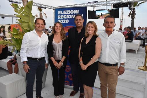 Sanremo: è scattata ufficialmente questa sera la campagna elettorale di 'Cambiamo per Toti presidente' (Foto e Video)