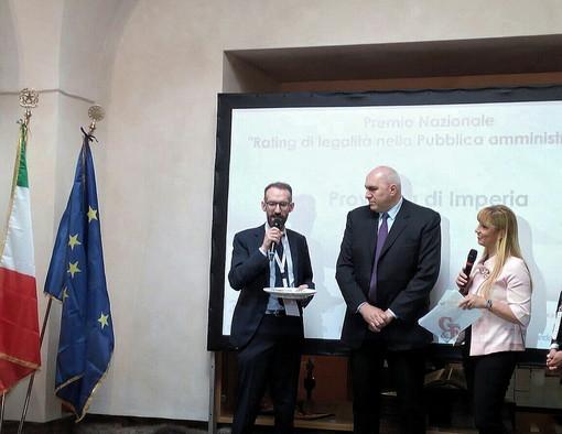Roma: siti web della pubblica Amministrazione, la provincia di Imperia vince il premio 'Rating di legalità'