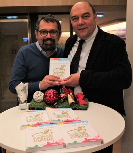Claudio Porchia con il giornalista Marco Casa
