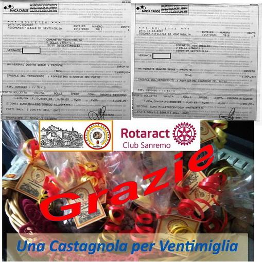 Ventimiglia: molti fondi raccolti per il ripristino del giardino del Putto e dell'aiuola della statua della Madre con il bimbo