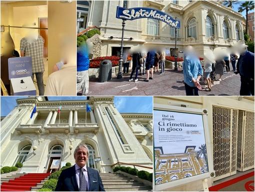 Le immagini dal Casinò di Sanremo
