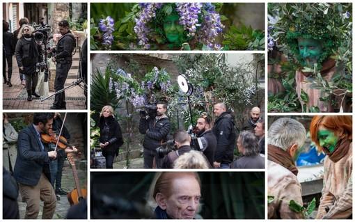 Sanremo sempre più protagonista sulle reti Rai: sabato scorso la registrazione di 'Sereno Variabile' nella Pigna (Foto)