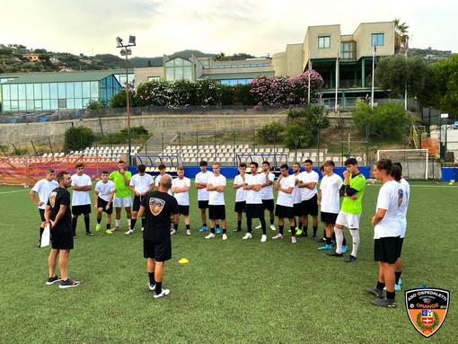 Calcio: al via il raduno al 'Ciccio Ozenda', è iniziata la stagione 2020/2021 dell'Ospedaletti (Foto e Video)