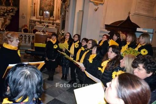 Borgomaro: chiesa di Sant'Antonio gremita ieri pomeriggio per il ricordo di don Ambrogio Bianchi (Foto)