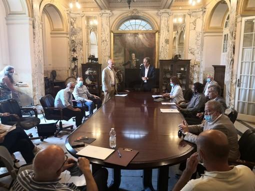 """Sanremo: il futuro del Puc in un incontro oggi in Comune, Donzella """"Condivisione di intenti con gli ordini professionali"""" (Foto)"""