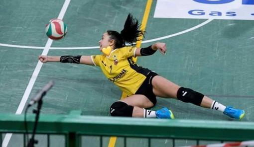 Pallavolo: la giovane giocatrice della Riviera Volley Sanremo Rebbecca Scialanca in nazionale