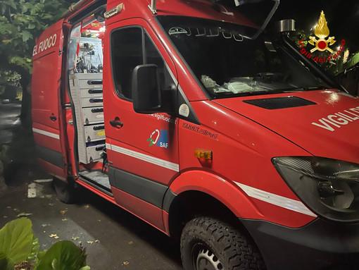Riva Ligure: smontano una cucina ma non chiudono il tubo del gas, allarme ieri sera in strada Casai