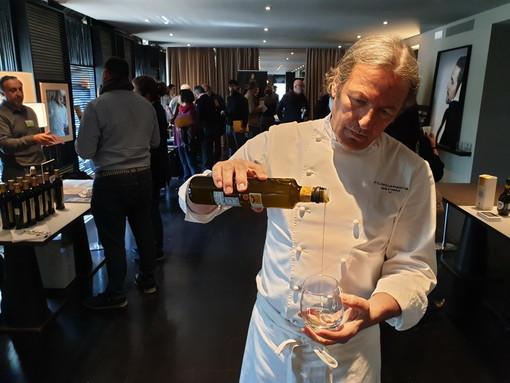 L'Olio Riviera Ligure DOP a Milano interpretato dalla 'cucina familiare' di La Mantia