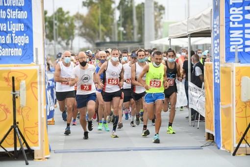 Sanremo: in 400 a Pian di Poma per la 'Run for the whales', grande entusiasmo nonostante il cambio di percorso. La classifica (Foto)