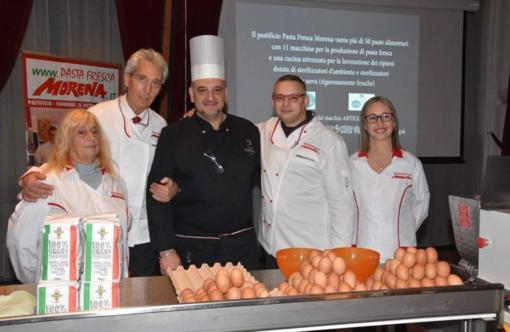 """Pasta Fresca Morena protagonista anche alla """"Foire de Nice"""" con uno stand tutto suo"""