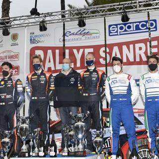 Automobilismo: l'equipaggio Crugnola-Ometto (Hyundai) vince al fotofinish il 68° Rallye di Sanremo (Foto)