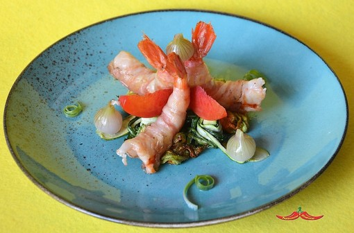 In esclusiva per i lettori di Sanremonews le ricette dello chef Calogero Rifici con cui ha partecipato al contest dedicato alla Cipolla Egiziana