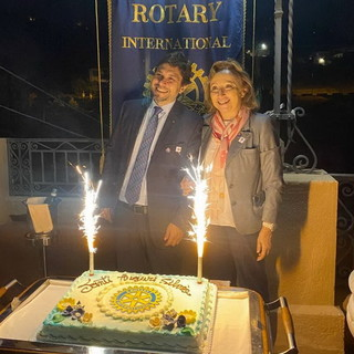 Sanremo: visita della Governatrice del Distretto Rotary Silvia Scarrone, giovedì la serata al Golf