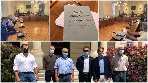 """Una task force per il rilancio di Monesi, firmato accordo tra enti """"In arrivo fondi regionali e nazionali"""" (foto e video)"""