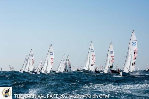 """Grande partecipazione alla """"Carnival Race"""" organizzata dallo Yacht Club Sanremo"""