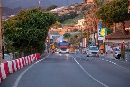 Sanremo: guasto ieri a una tubazione del gas a 'La Vesca', Aurelia riaperta poco prima della mezzanotte