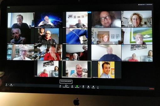 Il Lions del Club Sanremo Host si riuniscono in teleconferenza e donano una termocamera ai Rangers d'Italia