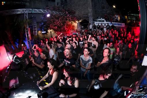 Ultima serata di 'Rock In The Casbah' in Piazza San Costanzo a Sanremo